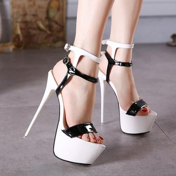 Strapped Gladiator Platforms