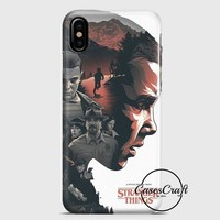Stranger Things Illustration iPhone X Case | casescraft