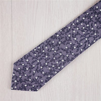 royal purple neckties.floral printed ties.slim necktie.vintage cotton ties.mens cheap necktie.wedding party ties.designer necktie+nt140