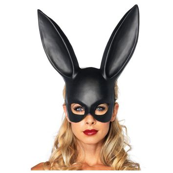 Women's Masquerade Rabbit Mask Lady Sexy Bunny Rabbit Mask Party Costume Accessories