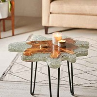 Jigsaw Side Table
