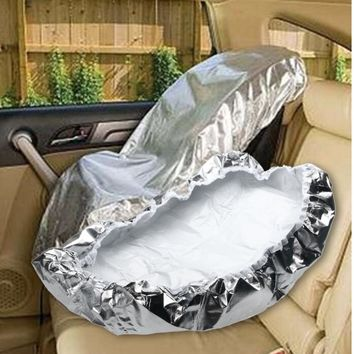 Protective Silver Aluminium For Baby Infant Carriage
