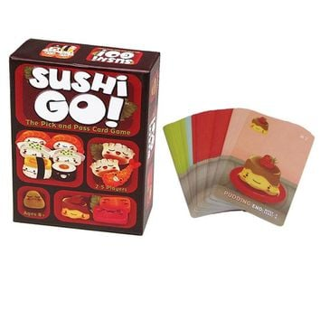 Sushi Go! Funny Board Game The Pick And Pass Cards Game 2-5 Players Family Game For Children With Parents