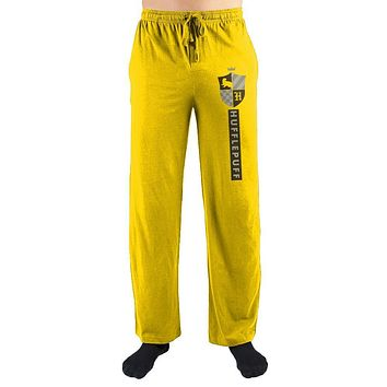Harry Potter House Hufflepuff Emblem Pajama Pants