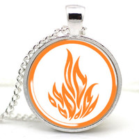 DIVERGENT Inspired Dauntless The Brave Necklace