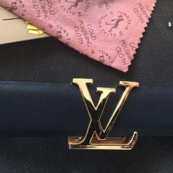 Louis Vuitton Gold Belt Buckle
