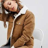 Stradivarius Cord Jacket at asos.com
