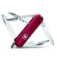 Victorinox Swiss Army Rambler Pocket Knife,Red