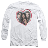 VAMPIRE DIARIES/GIRLS CHOICE - L/S ADULT 18/1 - WHITE - LG