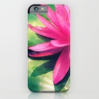 Waterlily iPhone & iPod Case by Shawn King