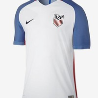 USA 2016/17 Home Men Soccer Jersey Personalized Name and Number