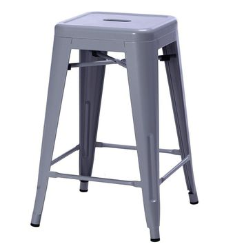 Tolix Style Counter Stool 67cm - Reproduction | GFURN