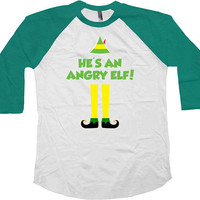 Buddy The Elf T Shirt Christmas Raglan Holiday Outfit Xmas Gift Ideas Christmas Humor Movie Quotes Holiday Present Xmas TShirt - SA705