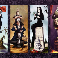 "The Addams Family Haunted Mansion Single 19""X13"""