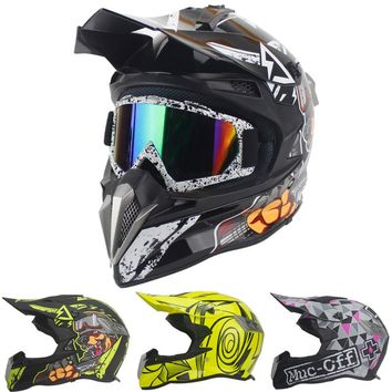 DOT Approval Newest Brand Motorcycle Helmet Racing ATV Motocross Helmets Men&Women Off-Road Capacete Extreme sports supplies
