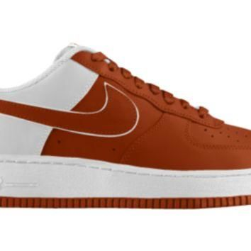 Nike Air Force 1 Low iD Custom Boys' Shoes 3.5y-6y - Orange