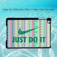 Aztec, JUST DO IT for iPad case, iPad mini case, iPad 2 case, iPad 3 case, New iPad case, iPad cover, customizable, customized, handmade