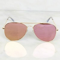 Block the Sunglasses Pink/Gold