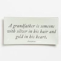 Ben's Garden 'A Grandfather is Someone' Trinket Tray