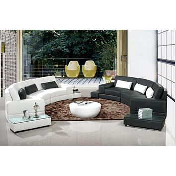 Modern Arc-Shaped Sofa Set For Living Room Furniture