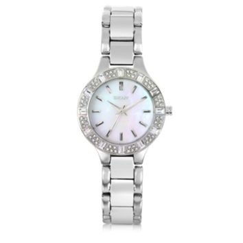 DKNY Designer Women's Watches Chambers Silver Tone Stainless Steel Women's Watch