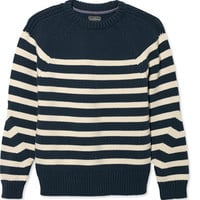 Men's Signature Maritime Stripe Sweater, Crewneck | Now on sale at L.L.Bean