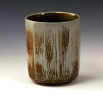 Salt Fired Ceramic Cup Tumbler