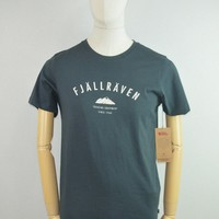 Fjallraven Trekking Equipment T-Shirt in Dark Navy