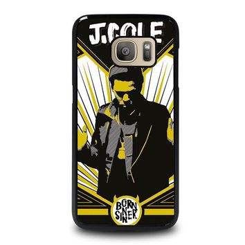 j cole born sinner samsung galaxy s7 case cover  number 1
