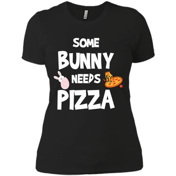 Cute Gift Ideas For Easter. Costume For Pizza Lover. Next Level Ladies Boyfriend Tee