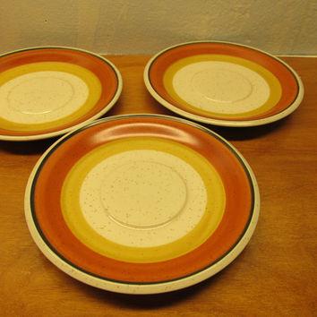 VINTAGE IMPERIAL STONEWARE BY W. DALTON PLATES MADE IN JAPAN