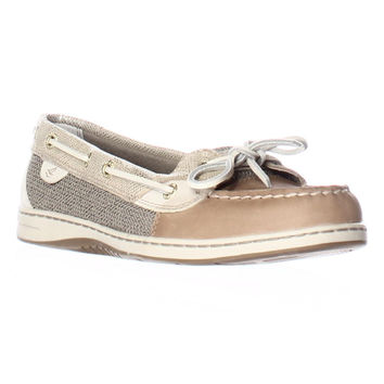 Sperry Top-Sider Angelfish Boat Shoes - Python Linin/Gold