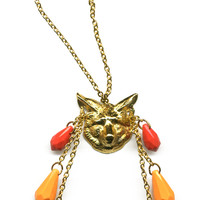 Call Of The Wild fox necklace