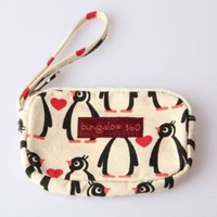 Bungalow360 Penguin Clutch/Purse