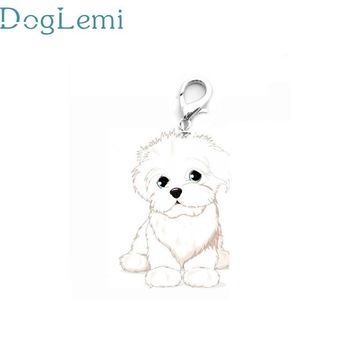 DogLemi Top Grand 2016 New Dog Tag Disc Disk Pet ID Enamel Accessories Collar Necklace Pendant #CTS-816