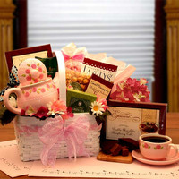 A Sweet Sophisticated Tea Lovers Gift Basket