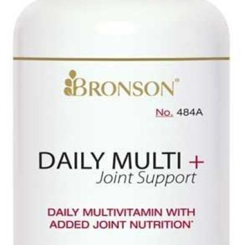 [Pack of 2] Bronson Daily Multi + Joint Support, 90 Tablets Each