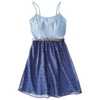 Mossimo Supply Co. Juniors Spaghetti Strap Dress w/ Belt - Assorted Colors