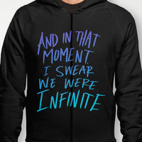 Infinite (The Perks of Being a Wallflower) Hoody by Leah Flores | Society6