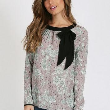 Since I Met You Floral Blouse