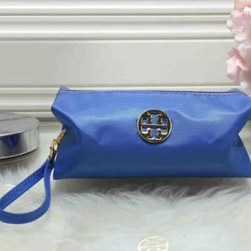 Tory Burch Women Fashion Leather Zipper Wallet Purse-4
