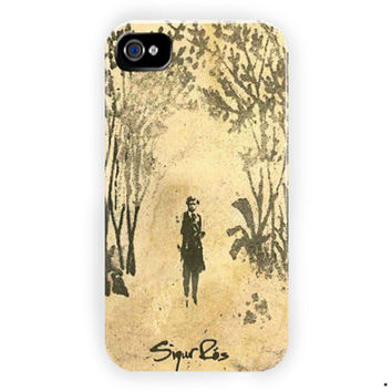 Sigur Ros Beauty Art Cover Design For iPhone 4 / 4S Case
