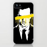 Moriarty iPhone & iPod Case by Tillieke