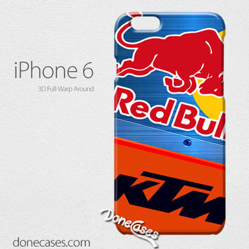 ktm redbull blue stell iPhone 6 / iphone 6 plus case