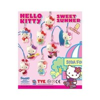 Hello Kitty Sweet Summer Charms Set of 8 Vending Toys - Capsule Toys