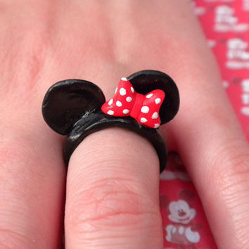 Minnie Mouse Ears by MonsterBakery on Etsy