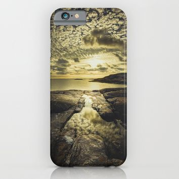 Good night sweet sun iPhone & iPod Case by HappyMelvin