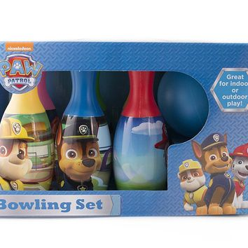 Educational Pretend Party Paw Patrol Bowling Set For Boys