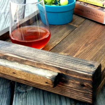 Wood Serving Board Serving Tray Wood Platter Wooden Rustic Tray Serving Board Wooden Platter Rustic Wooden Tray Rustic Platter Rustic Tray