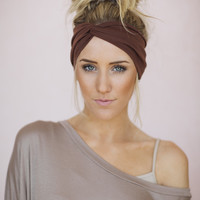 Solid Turban Headband
